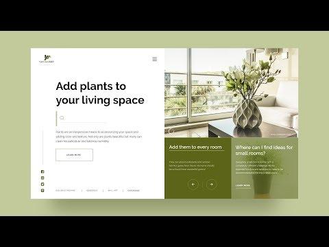 UI Design Tutorial For Interior Decoration Website | UI Designing In Adobe XD thumbnail