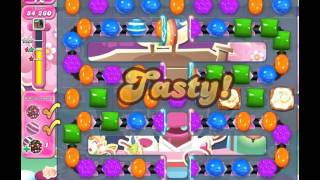 Candy Crush Saga Level 1187 (No booster, 3 Stars)