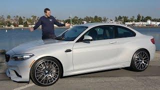 BMW M2 Competition это крутейшая машина М серии