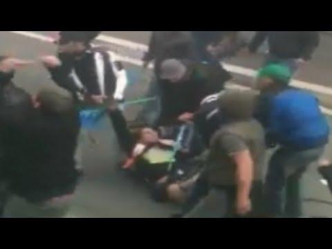 Ciro Esposito - Il video dell'omicidio a Tor di Quinto (04.09.14)