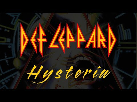 Def Leppard - Hysteria (Lyrics) Official Remaster