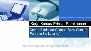 Tugasan Projek Tingkatan 5 SPM 2014 Video 05 - Catatan Lejar Am