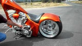 mgs custom chopper for sale