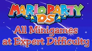 Mario Party DS - All Minigames (Expert Difficulty)