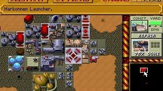 Dune II - Harkonnen mission 8 speedrun 31:09 (PC DOS)