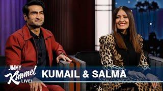 Salma Hayek \u0026 Kumail Nanjiani on Marvel Studios' Eternals, Salma's Birthday \u0026 Keanu Reeves' Butt