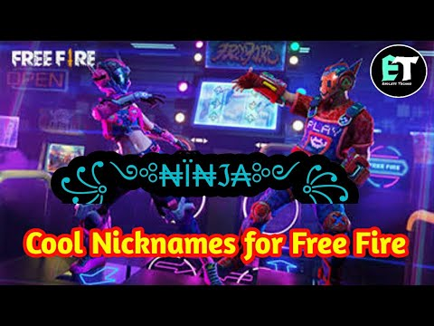 How to give a cool name in free fire || Free Fire names