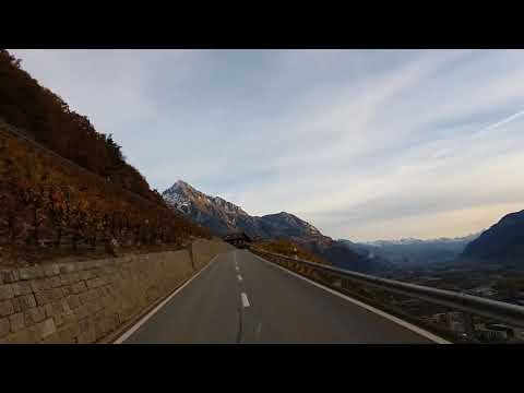 Swiss 203 Route de la Forclaz, Martigny-Combe Wallis to Trient
