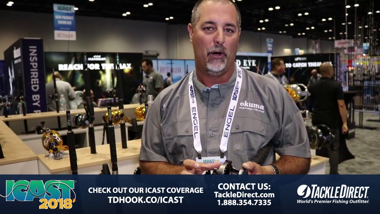 e40a7d697f7 Okuma Tesoro TSR 5S Star Drag Reel at ICAST 2018. TackleDirect