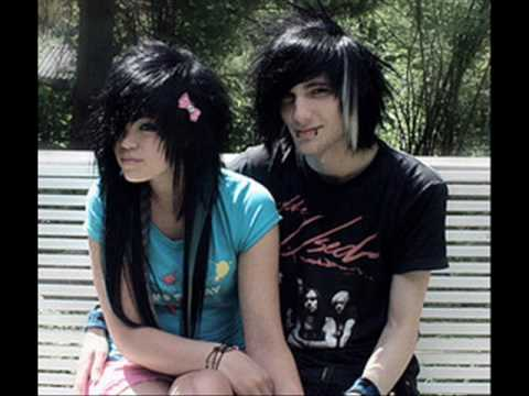 pictures of emo couples