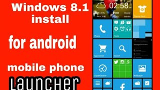 windows 8.1 install for android mobile phone new launcher free theme download applications (2019)