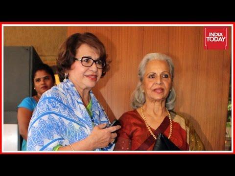Waheeda Rehman & Helen In Conversation With Rajdeep Sardesai   Exclusive