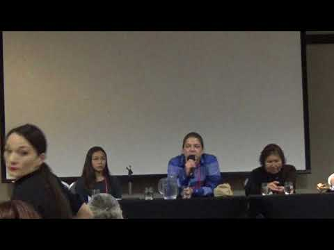 Water and Mother Earth Panel at Anishinabek Health Conference, 2018.
