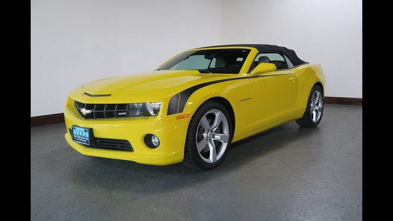 2012 chevrolet camaro 2ss for sale in canton ohio jeff