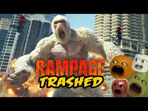 Rampage Trailer Trashed! [Annoying Orange]