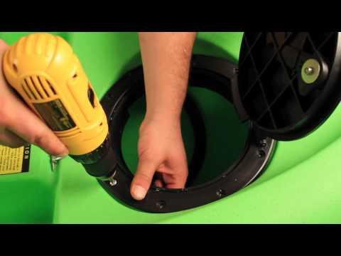 "Malibu Kayaks Installation Series- How to install an 8 "" Round Hatch"