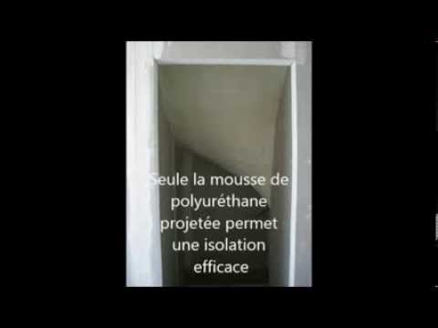 Solution n 7 isolation de la sous face d 39 un escalier - Isolation mousse polyurethane ...
