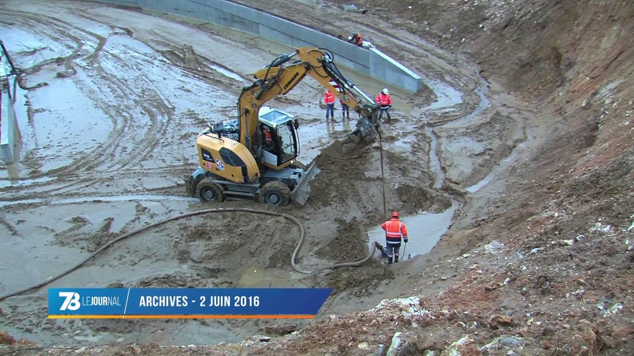 Plaisir : le point sur le chantier de la RD30 après les intempéries
