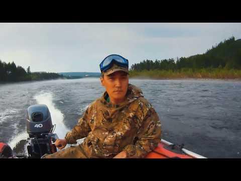 Чульман верховье на водомете Ямаха 40 2017
