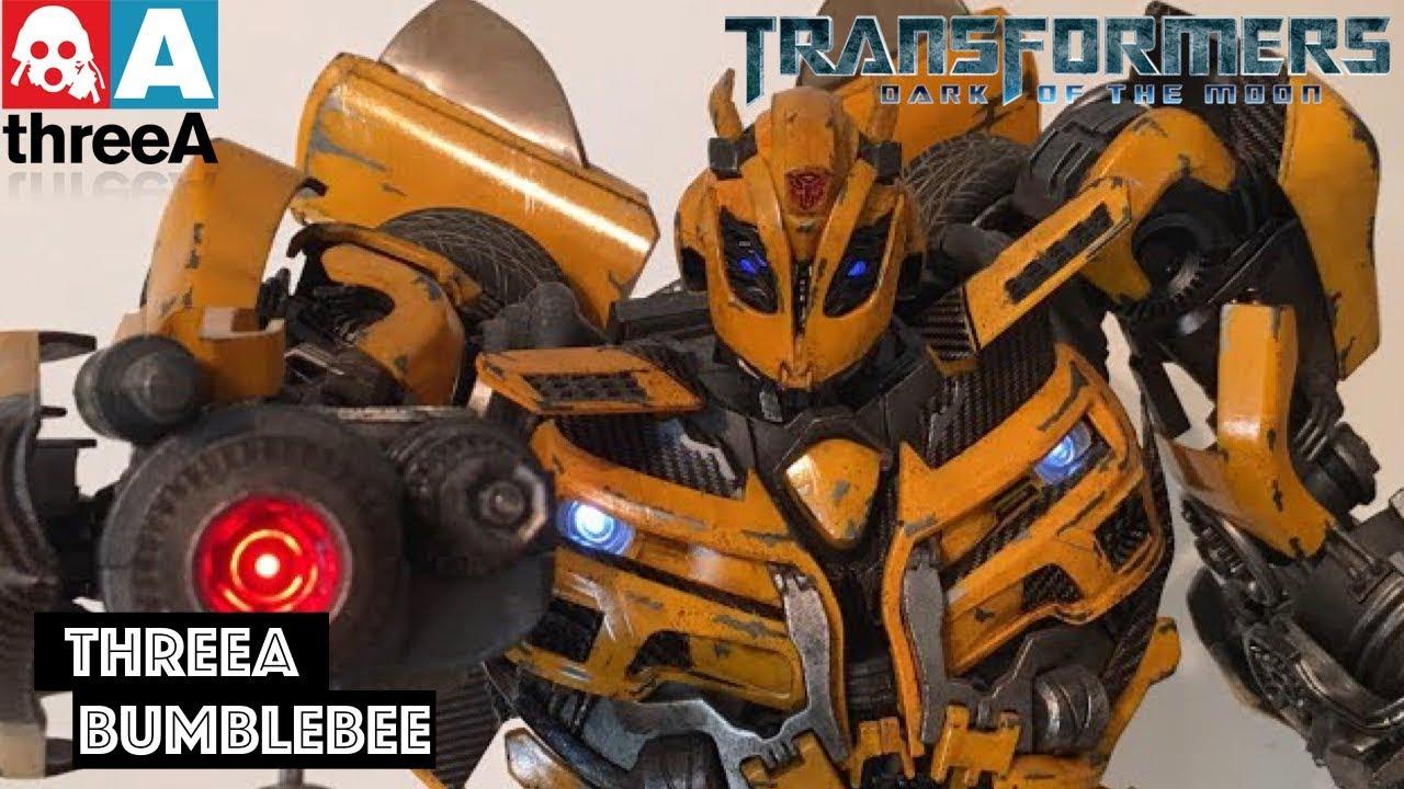 BUMBLEBEE || ThreeA Transformers: Dark of the Moon Bumblebee Premium Scale  Collectible