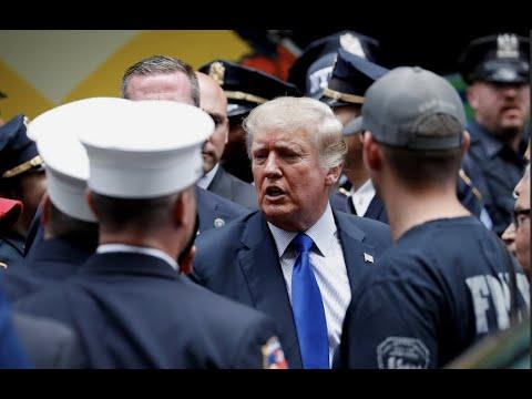 Дональд Трамп не присутствовал на церемонии памяти 9/11