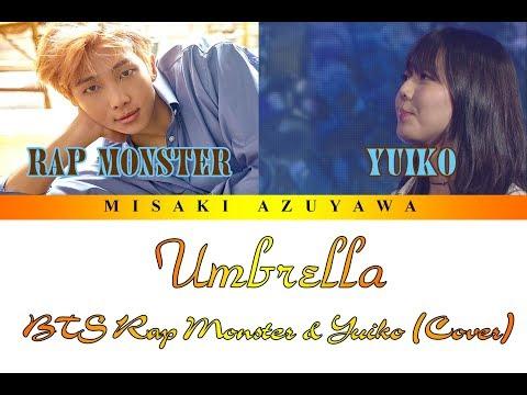 [Han Lyrics] BTS Rap Monster & Yuiko - 'Umbrella (우산)' (Cover) [Duet Song Festival]