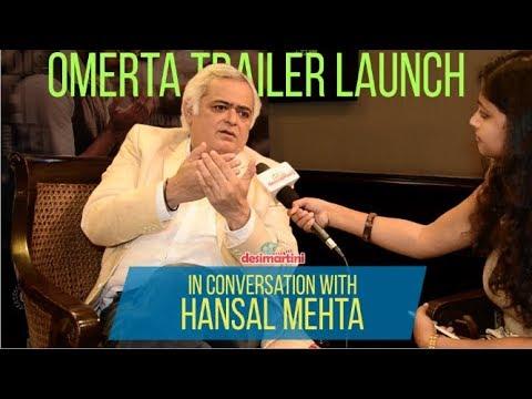 Interview With Hansal Mehta | Omerta Trailer Launch | HD