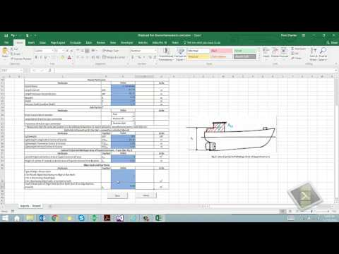 ShipLoad - Ship Trim and Stability calculator (www.thenavalarch.com) - with subtitles