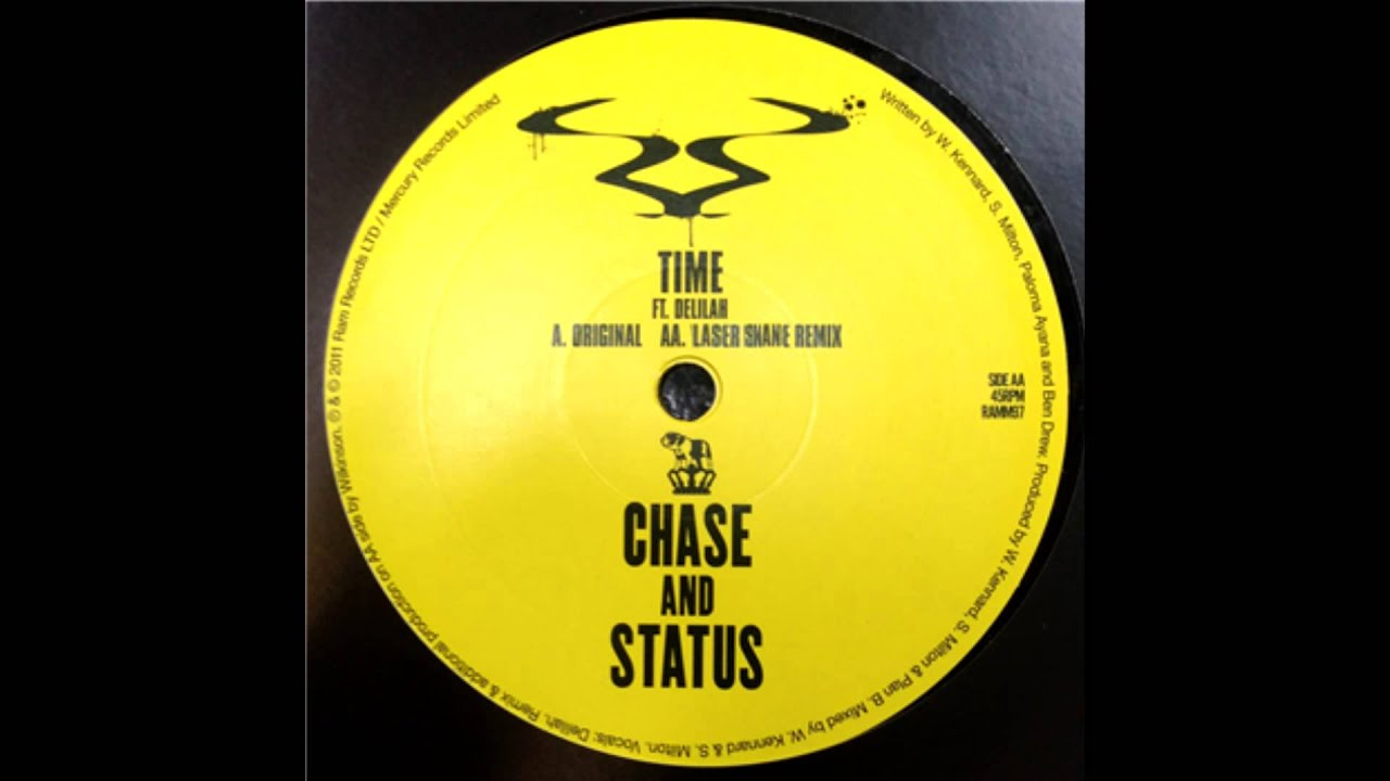Chase & Status 'Time' Feat Delilah (Laser Shane Remix)