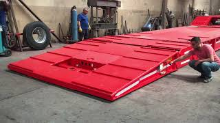 Download Video FRONT LOADING LOWBED SEMI TRAILER (FOLDABLE GOOSENECK) - GENERAL SYSTEM 1 MP3 3GP MP4