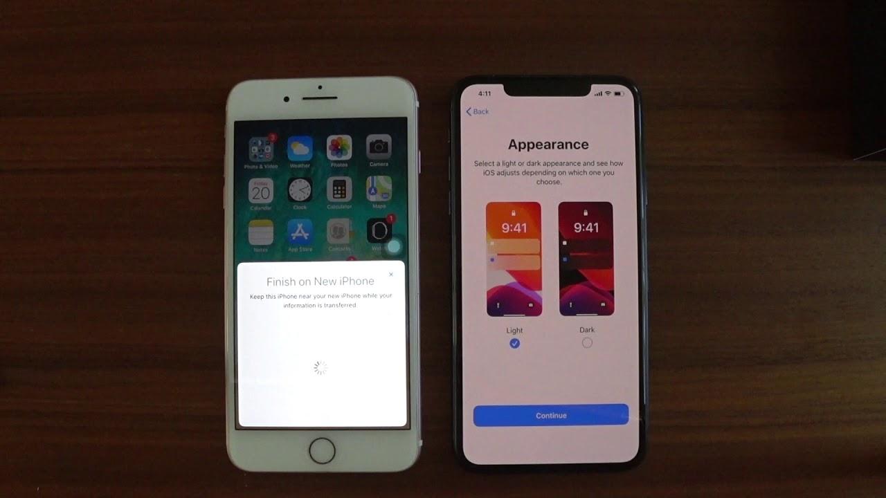 Cách Truyền Dữ Liệu Từ iPhone Cũ Qua iPhone Mới