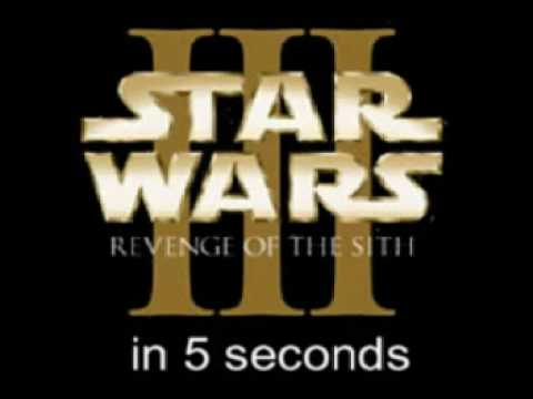 Star Wars In 5 Seconds