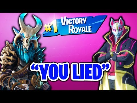 I LIED TO A FAN THAT RECOGNIZED ME ON FORTNITE... HE CAUGHT ME!! (SOLO-DUO CLUTCHS & FAILS)