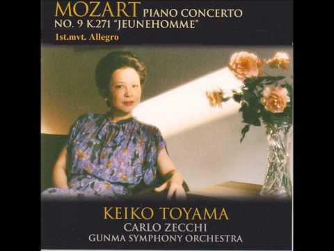 モーツァルト P協奏曲第9番第1楽章 C・ゼッキ指揮群響 遠山慶子(p)