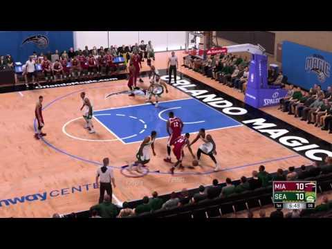 Miami Heat @ Seattle Sonics - Summer League