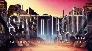 Get Down - GRiZ (ft. Sunsquabi & Manic Focus) (Audio) | Say It Loud