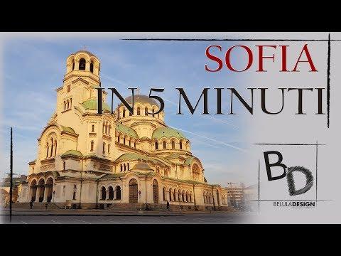 Sofia in 5 minuti | VLOG Sofia, Bulgaria | Belula Design