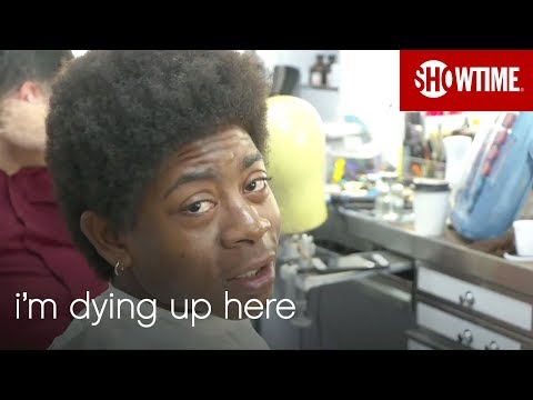 BTS: RJ Cyler Transforms Into Adam | I'm Dying Up Here | Season 2