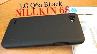 чехол LG Q6a NILLKIN. В комплекте Защитная пленка!