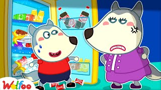 Wolfoo, Clean Up This Mess Now! Mommy Helps Wolfoo Learn Good Habits for Kids | Wolfoo Channel