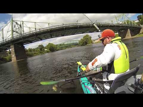 A day on the Delaware River with Kayak Anglers of Eastern PA