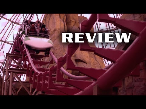 Canyon Blaster Review Adventuredome Las Vegas Arrow Looper