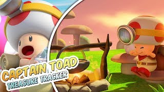 Fed minecart bane! Captain Toad: Treasure Tracker Del 10