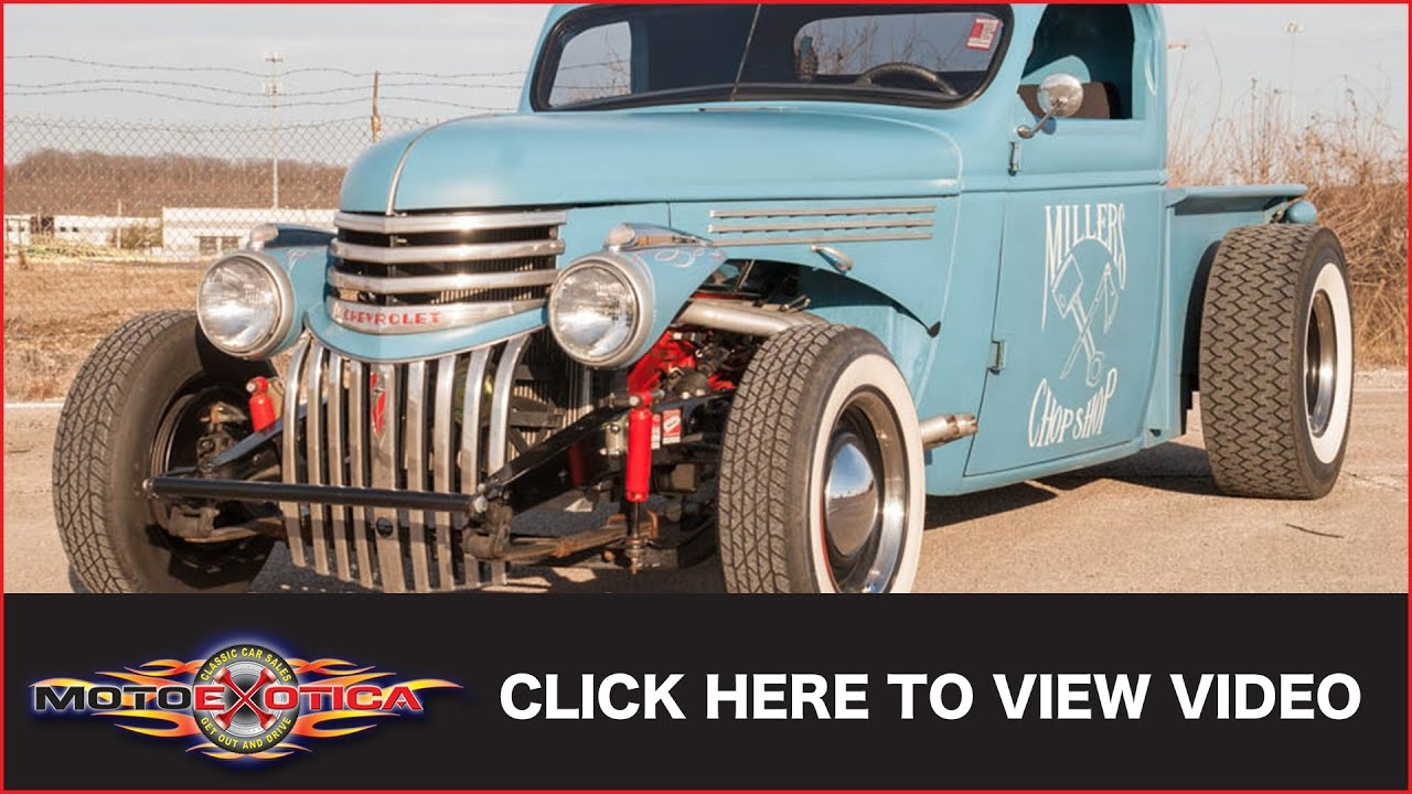 1939 Chevrolet Master Rat Rod Pickup Sold Youtube