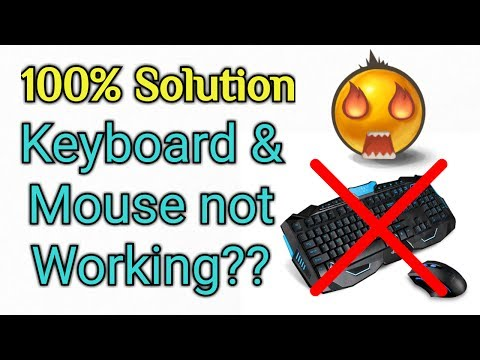 Windows 10 keyboard and mouse not working after reset