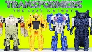 Transformers The Last Knight Best of Toy Adventure Optimus Prime Bumblebee Barricade Hound