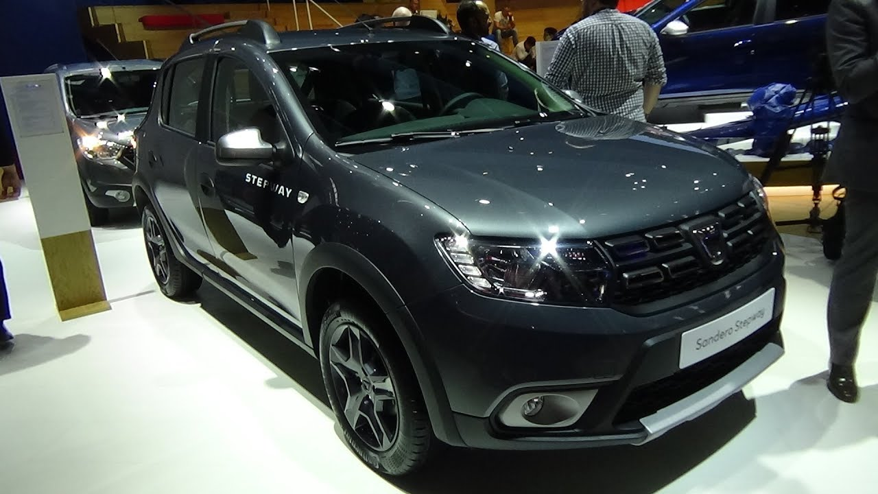 2018 dacia sandero stepway celebration tce 90 exterior and interior iaa frankfurt 2017 youtube. Black Bedroom Furniture Sets. Home Design Ideas