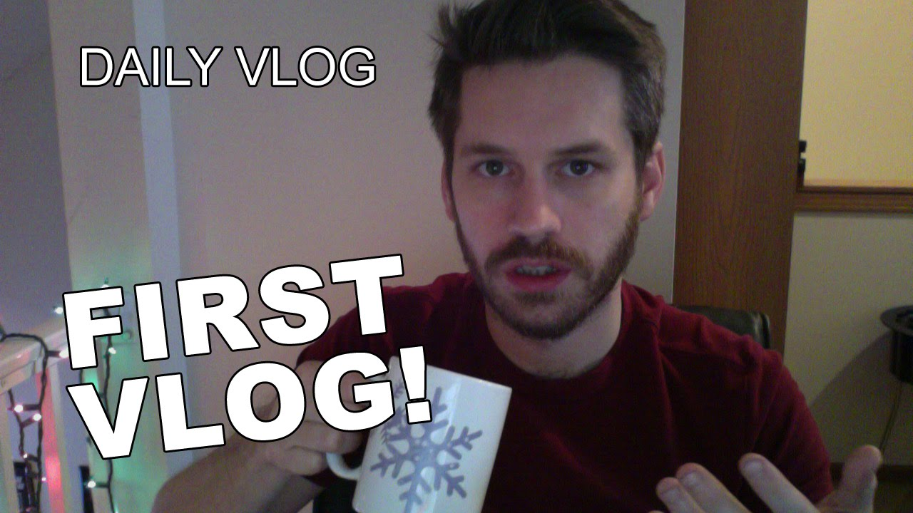 Daily Vlog - January 15, 2015 - FIRST VLOG! - YouTube
