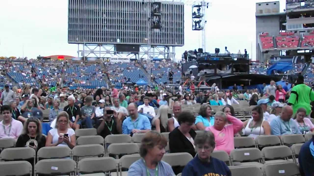 View From Gold Circle Seats Youtube