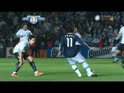 Argentina vs Uruguay Copa America 2012 - alargue y penales COMPLETO - HD